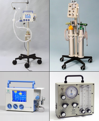ICU Ventilators (ICU - Home - Transport - MRI Compatible)